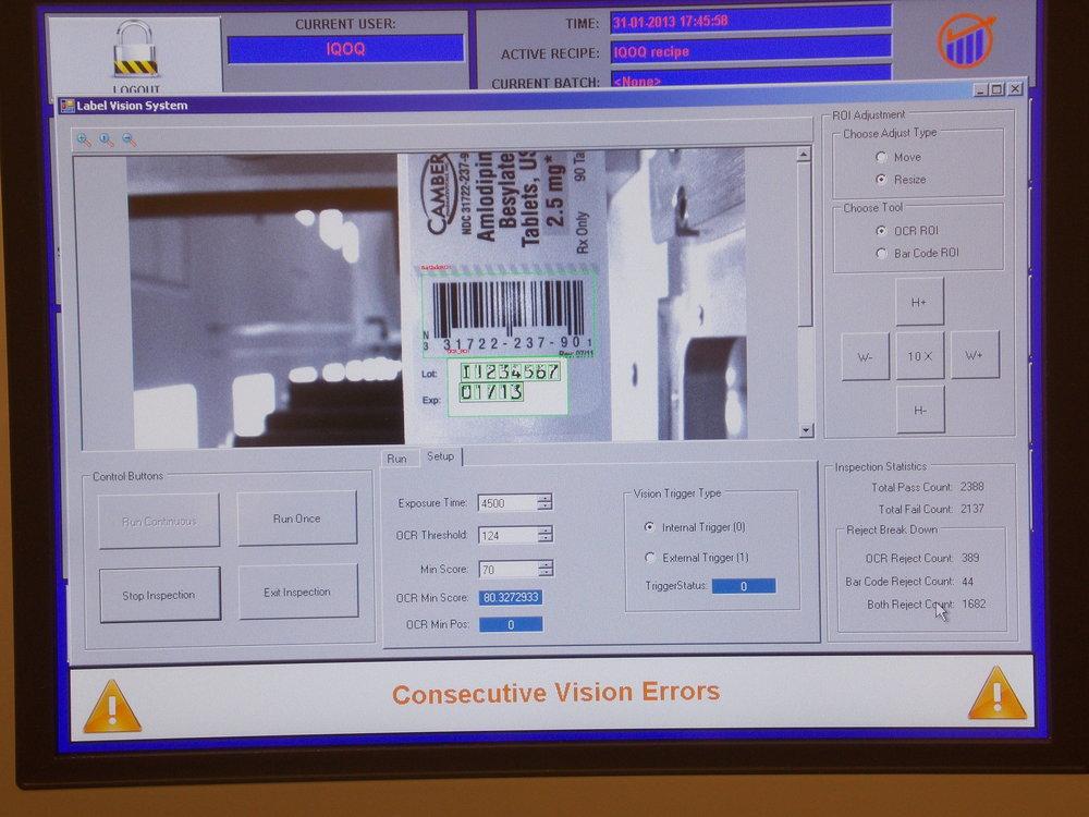 Camera Inspection System