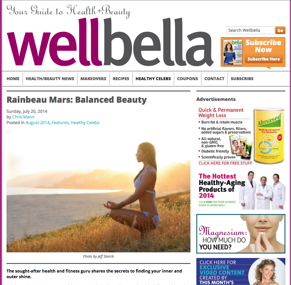 http://www.wellbella.com/healthy-celebs/rainbeau-mars-balanced-beauty/