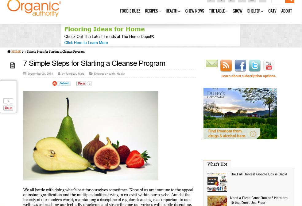 http://www.organicauthority.com/7-simple-steps-for-starting-a-cleanse-program/