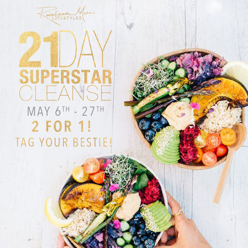 Blog rainbeau mars lifestyles join the 21 day superstar cleanse 2 for 1 fandeluxe Gallery