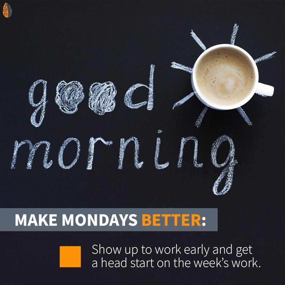 make Mondays better