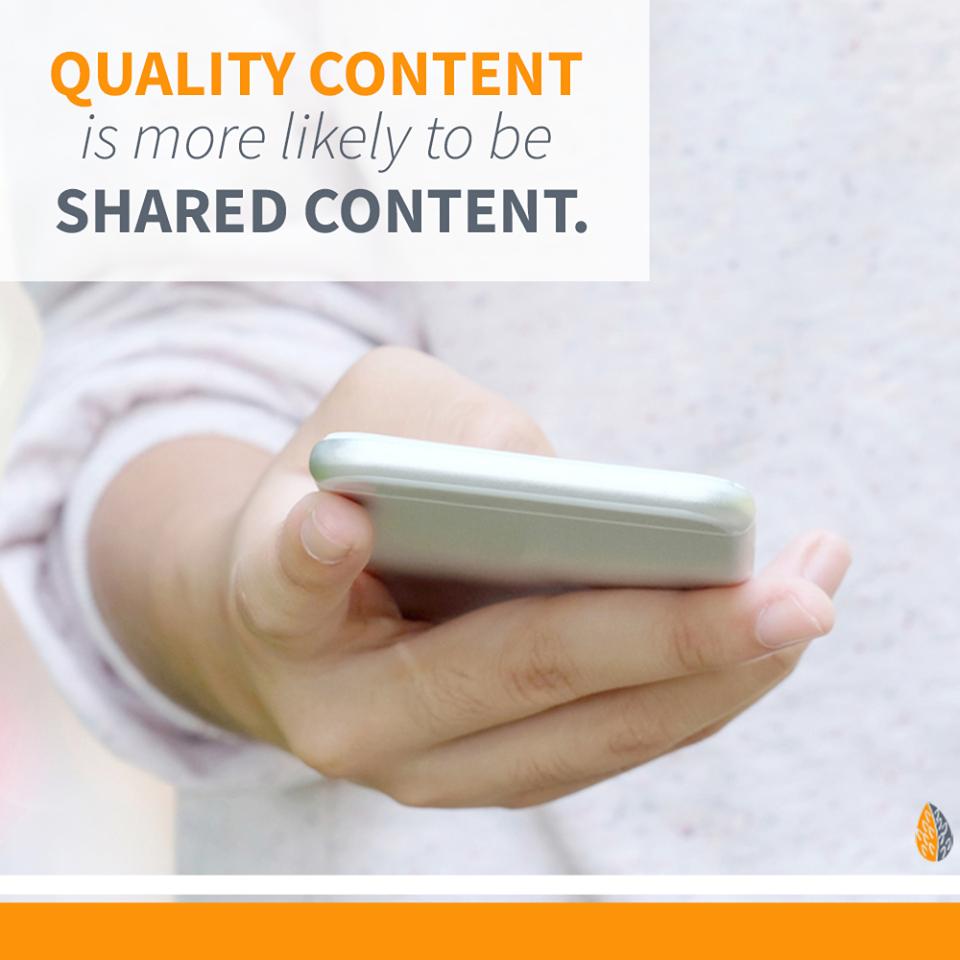 quality marketing content