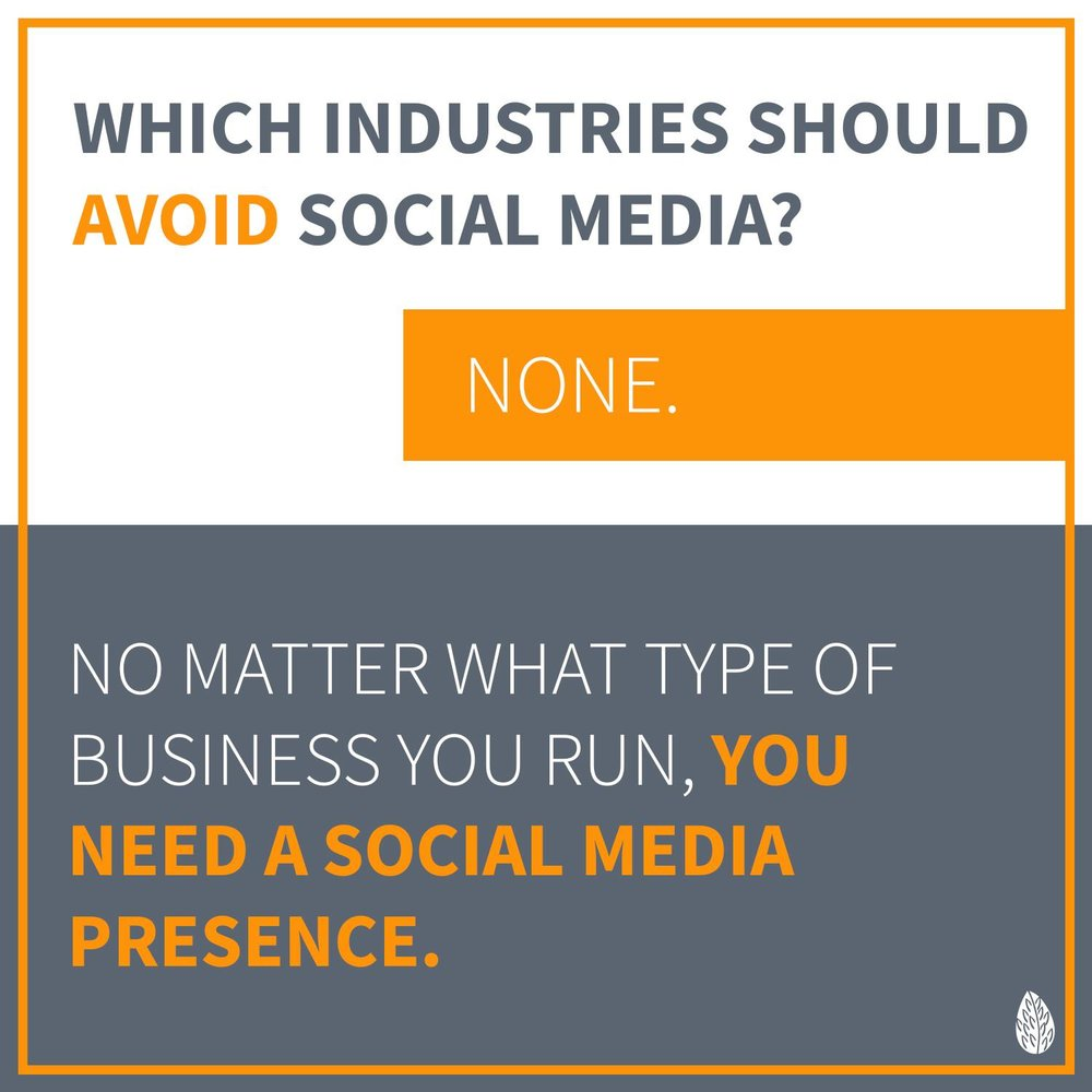 best businesses for social media