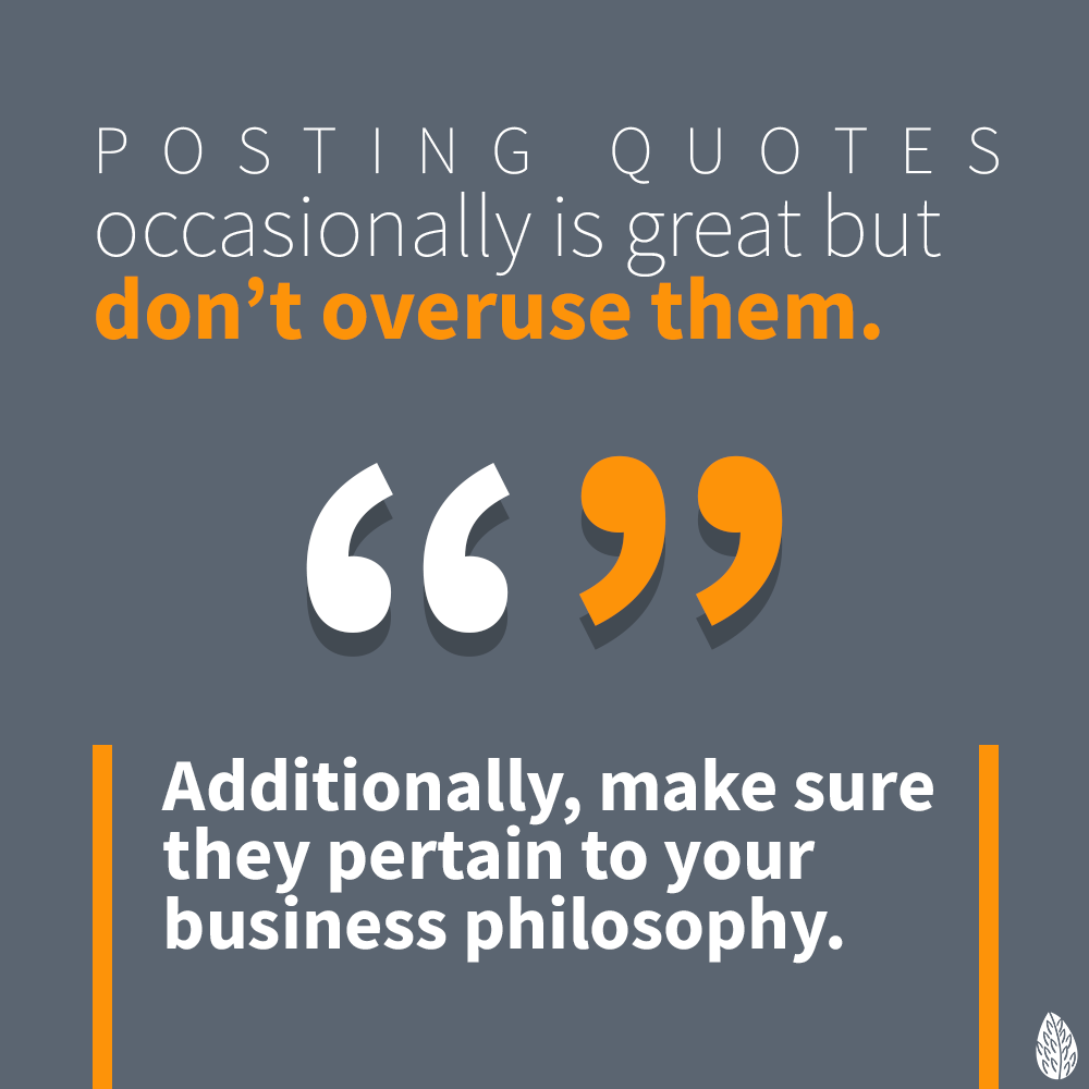 quotes in social media posts