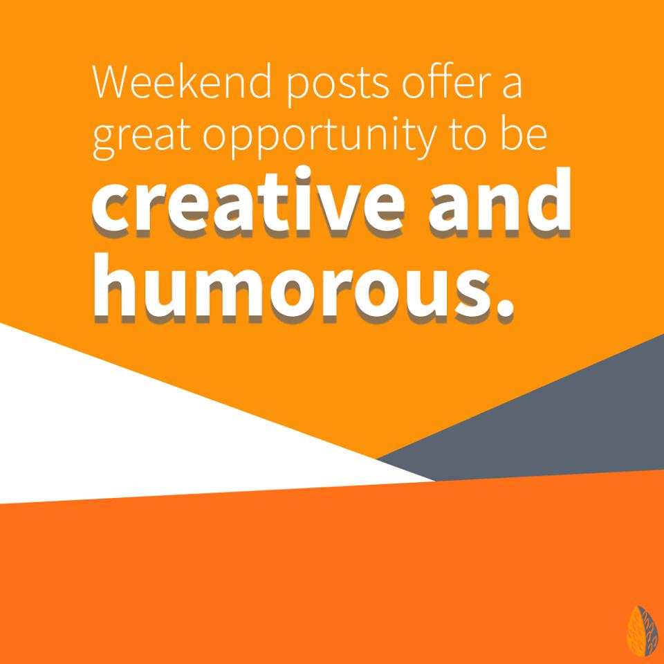 weekend posts