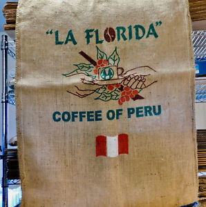 Usda Organic Fair Trade Coffee - La Florida, Peru - Sack
