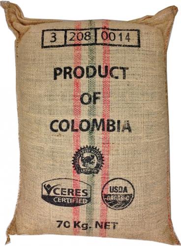 Usda Organic Fair Trade Coffee - Tatama Excelso Colombia - Sack
