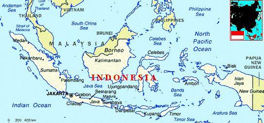 Usda Organic Fair Trade Coffee - Mandheling Royal Select Sumatra - Map