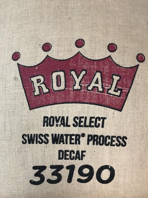 Usda Organic Fair Trade -Mandheling Royal Select Swiss Water Process Sumatra - Sack