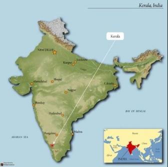 Usda Organic Coffee - India Robusta - Map