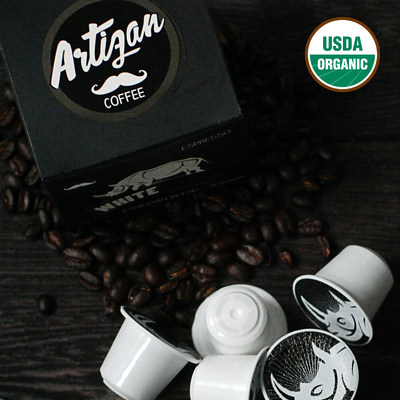 Organic Nespresso Pods by Artizan Coffee