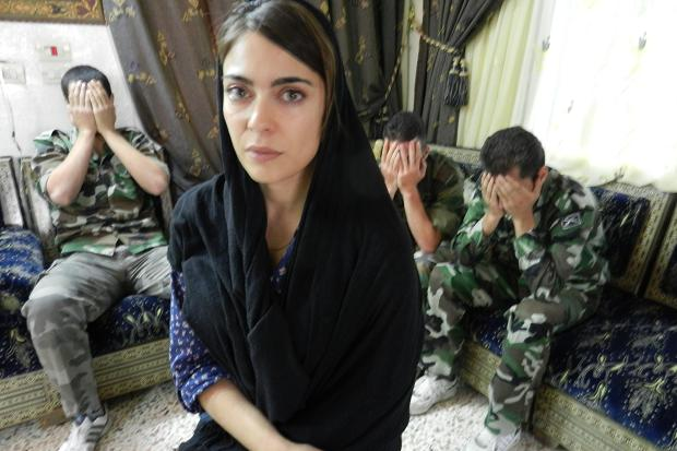 Ramita Navai with soldiers who have defected from the Assad regime, some after being ordered to shoot unarmed civilians.