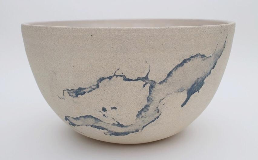 Puget Sound's Totten Inlet serving bowl