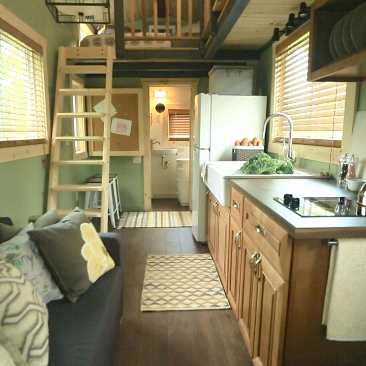 Kitchen Plans For Small Houses: Tiny House Nation