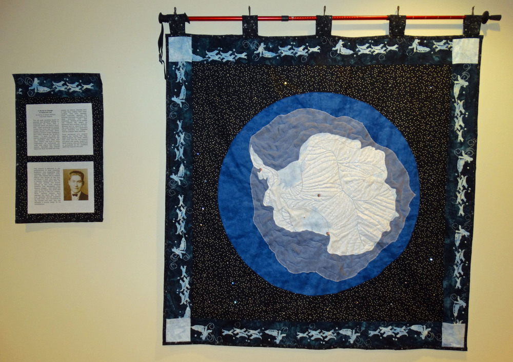 Copy of Honorable Mention, Historical, Sandy Winfree, fabric quilt