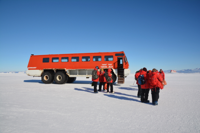 Ivan the Terrabus takes us to McMurdo