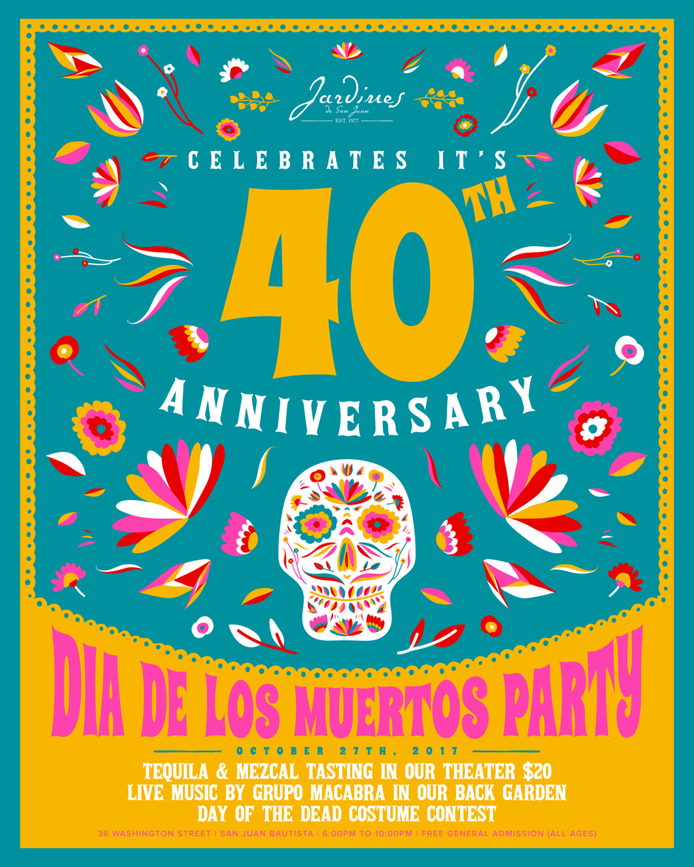 Jardines Day of the Dead 40th Anniversary 2017 IG.png