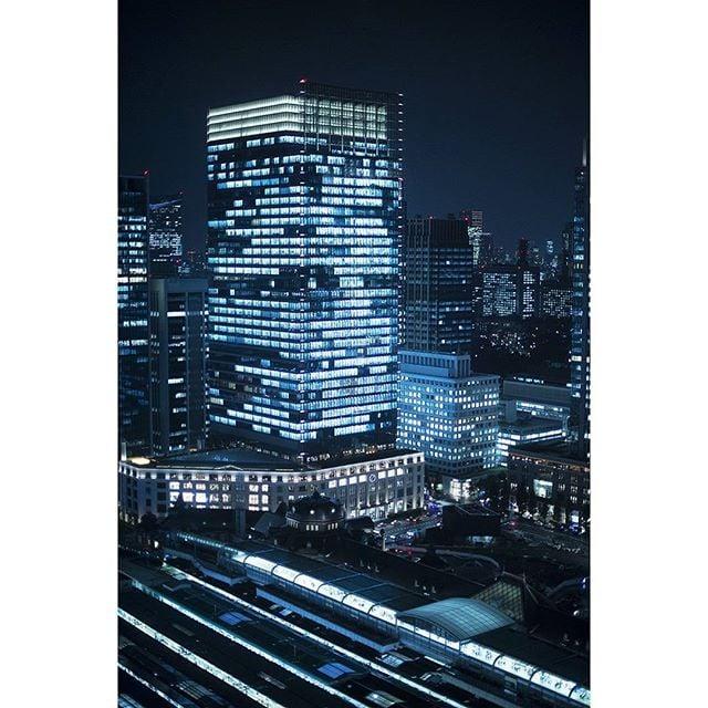 Day 11 | Urban winter #tokyo #station #cityscape