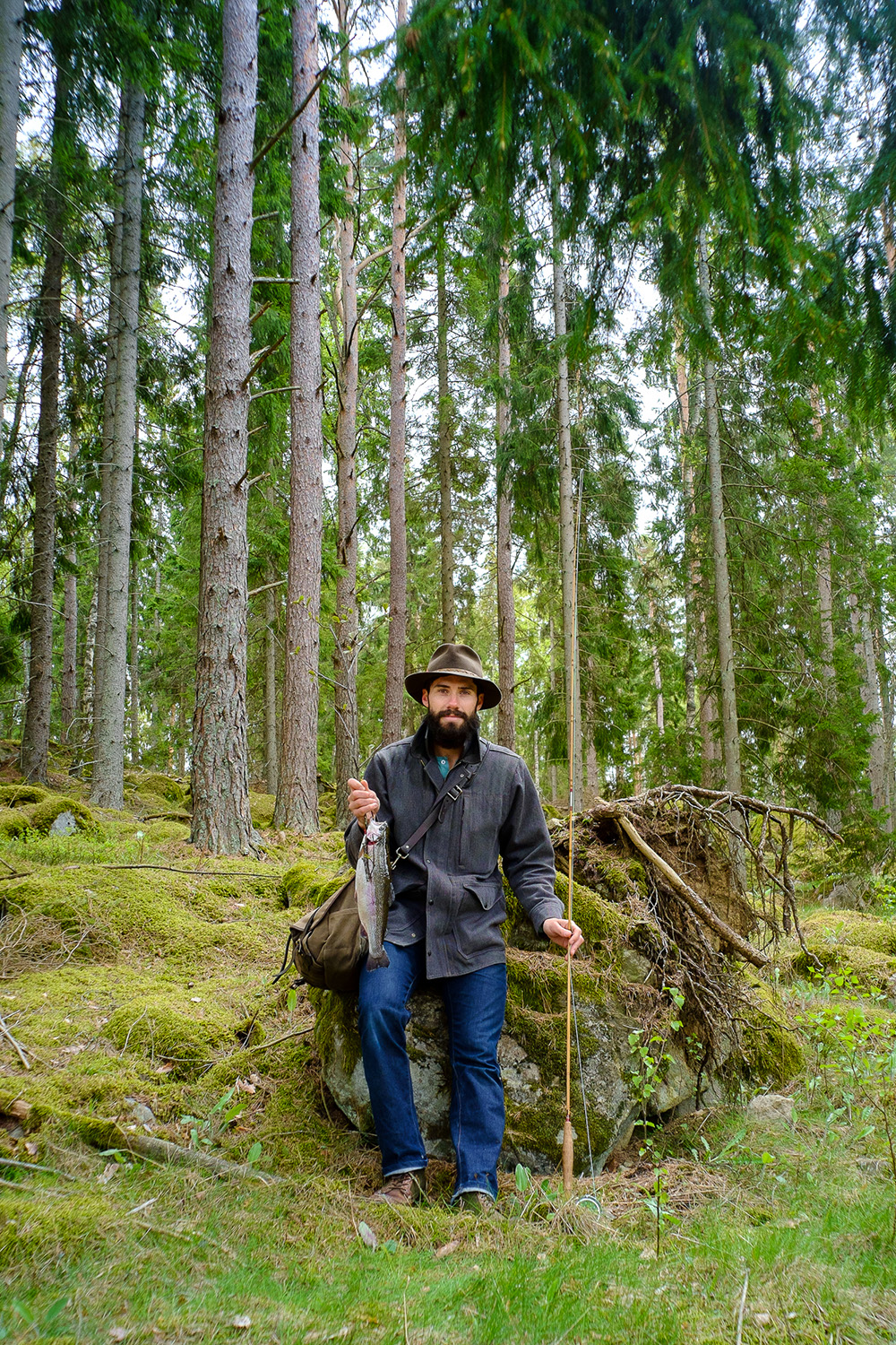 Tyler Sharp I will personally make sure there are adventures planned outside of wherever we stay, for fellow campers to partake in or not. And though we can't catch rainbow trout in the magical forests of Sweden (as pictured above) I will lead the quest in finding some of the magic that the desert has to offer.  www.tylersharp.com