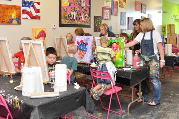 Art Parties for Children