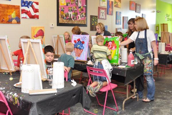 Art Parties for Children