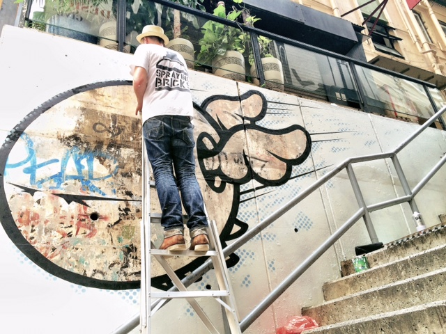 Sheung Wan district getting a facelift form HK Walls.