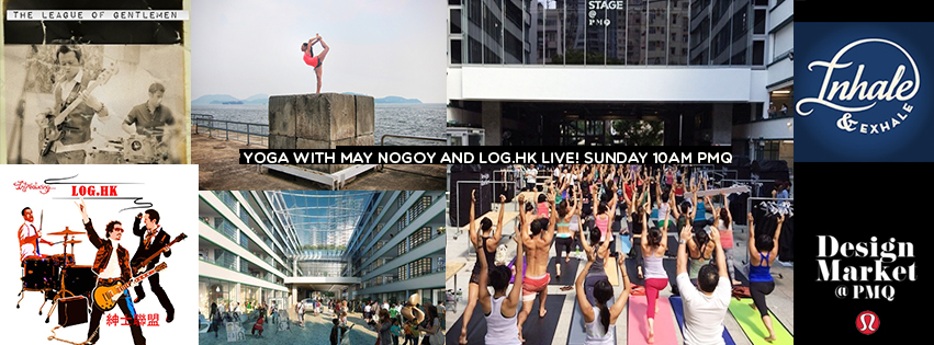 How exciting is this? Truly a dream to partake in this ever expanding yogic community in Hong Kong.