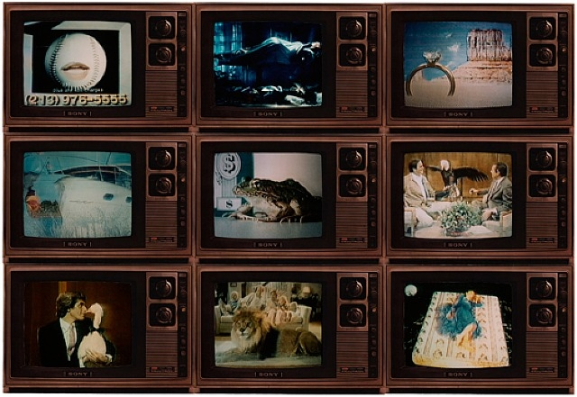Robert Heinecken, Surrealism on TV, (1986)
