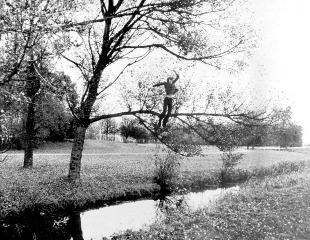 "Bas Jan Ader, ""Broken Fall (Organic)"", 1971"