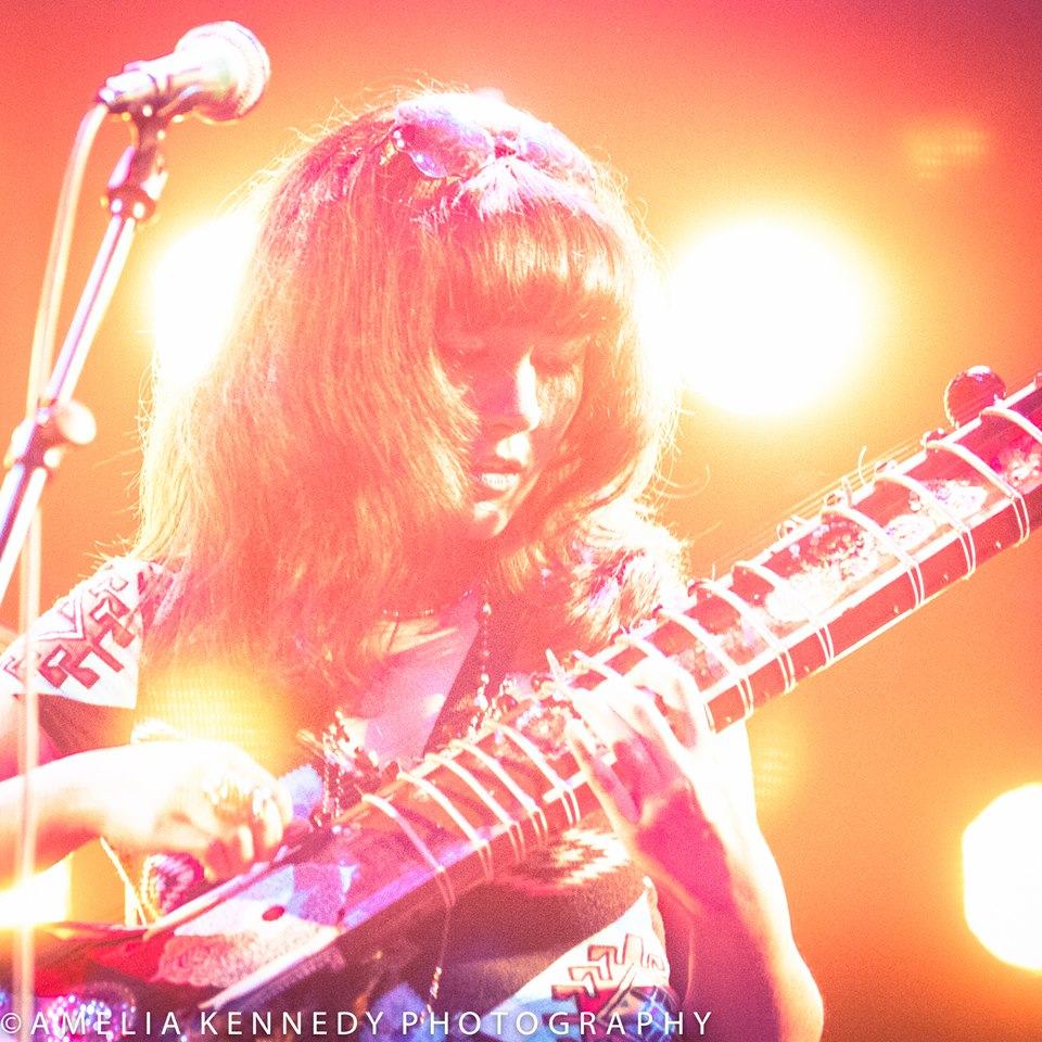 Gabby La La will perform a very magical live looping electric sitar set of improvised music, covers and originals! La La is a long time student of Ali Akbar Khan who developed her unique style on the sitar through experiments and experiences at CalArts.