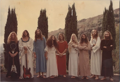 Djin Aquarian {left} of The Source Family in the 1970s