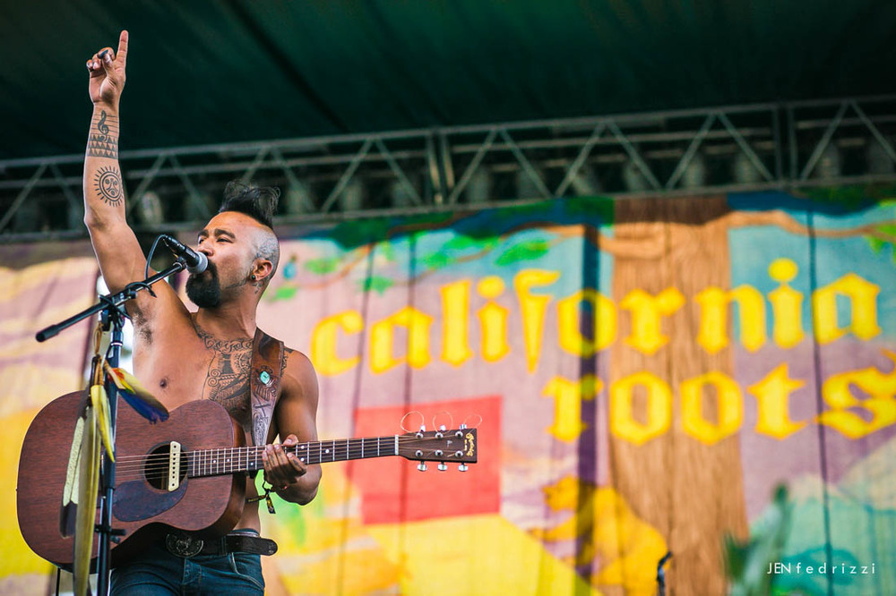 May - Nahko Bear at California Roots Festival