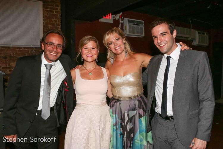 Stephen Sokoroff, 2015 Tedd Firth, Carey Anderson, Elizabeth Stanley, Ben Schrager (l to r)