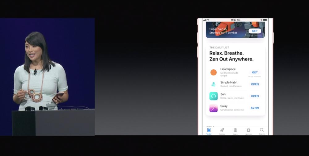 Apple's WWDC Keynote in June 2017