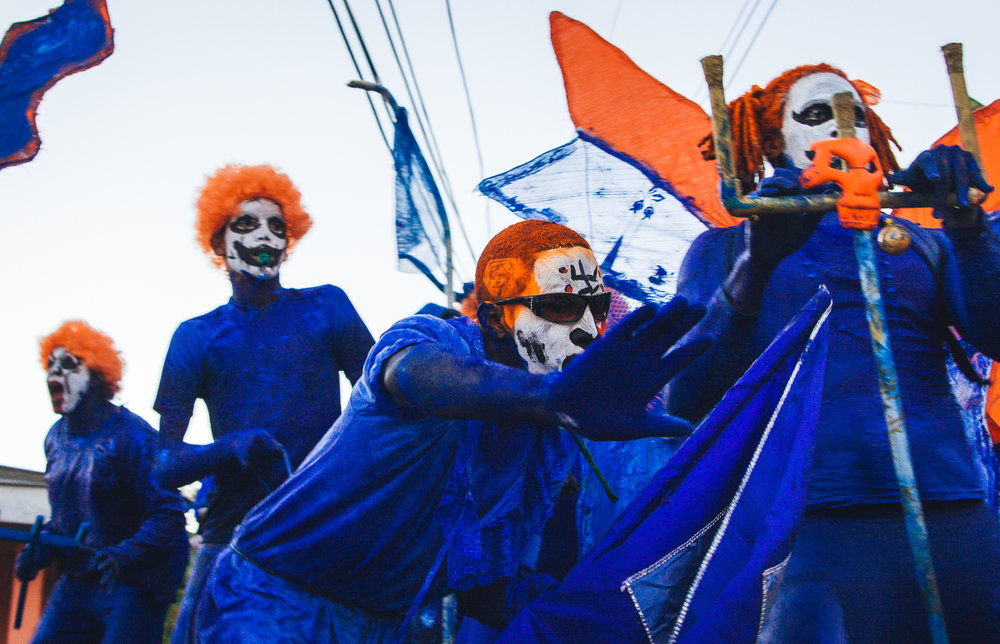 Trinidad - Paramin Blue Devil Parade