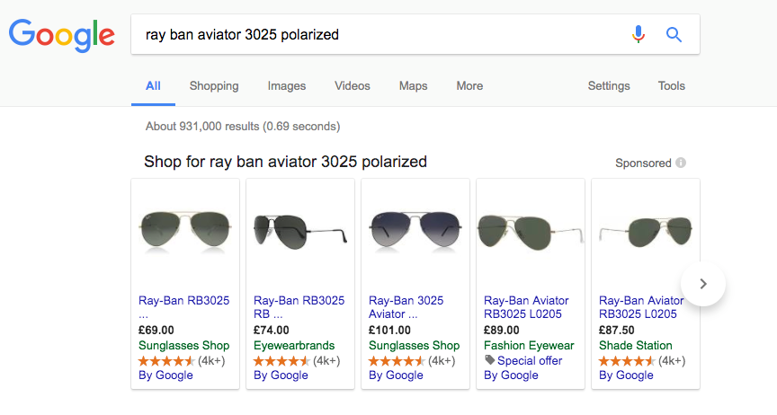 google shopping pla results page sunglasses .png