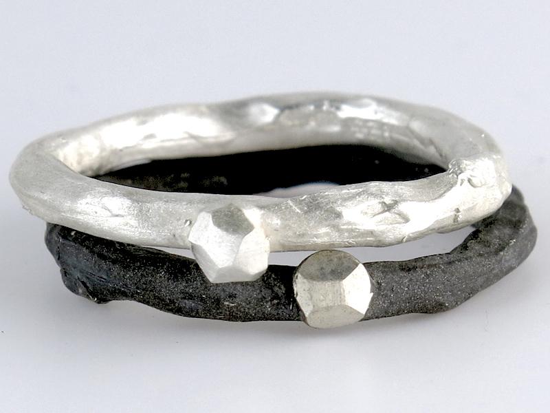 Takjes ringen zilver va € 120