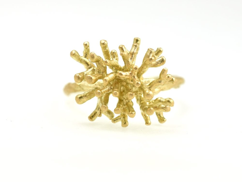 -Koraalring- fairtrade goud