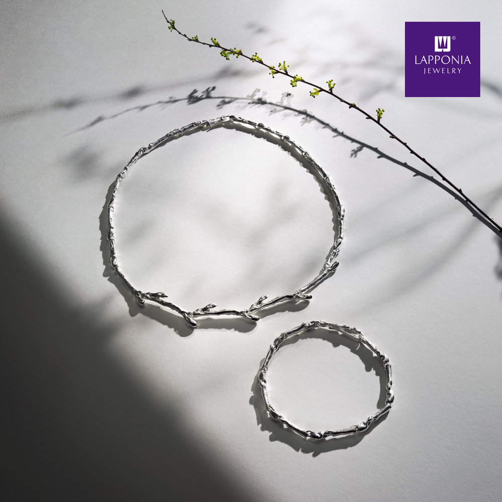Promiss of spring collection for Lapponia Jewelry