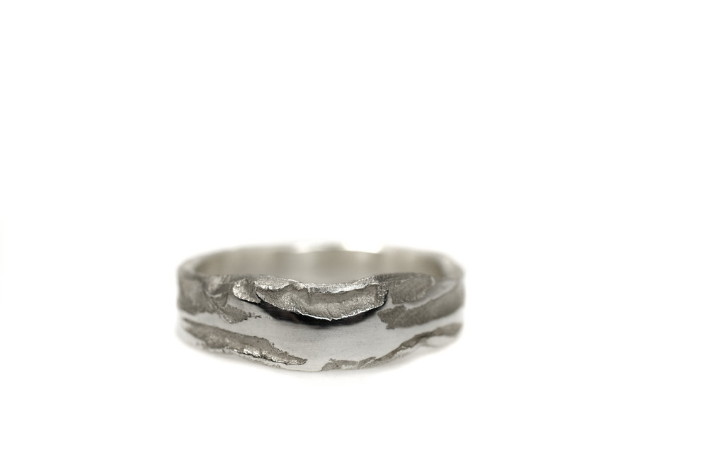 Earth Canyon Lady ring white gold