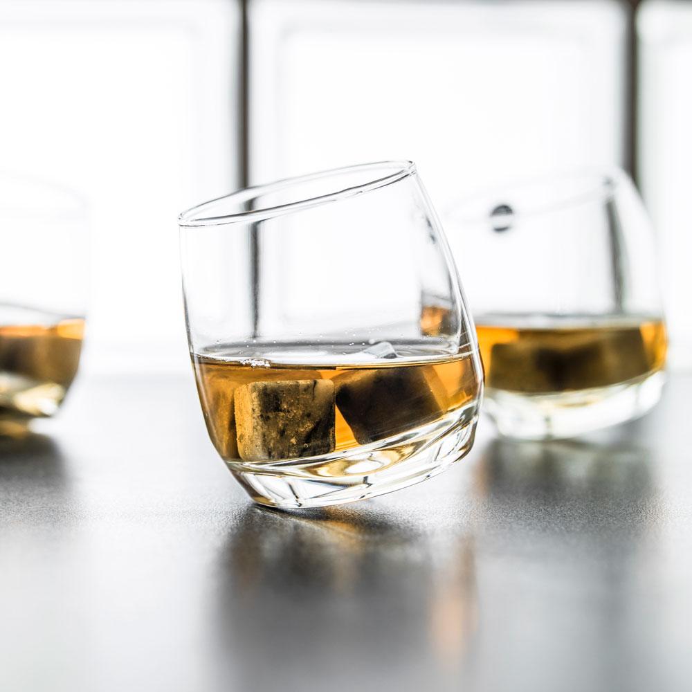 Sagaform set 6 whisky glazen 19,95€