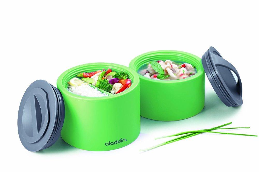 Aladdin Bento Lunchbox modulaire, geïsoleerde lunchbox