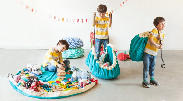 Play&Go  speelmat en speelzak 2 in 1