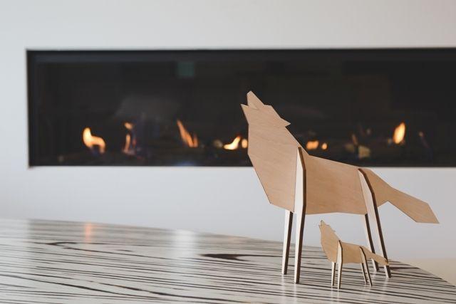 Atelier Pierre houten dieren