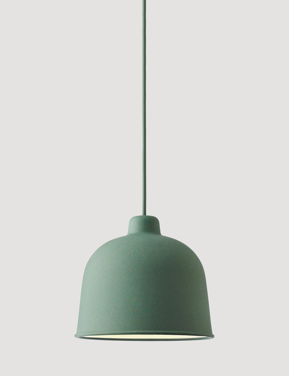 Muuto Grain hanglampen in verschillende kleuren
