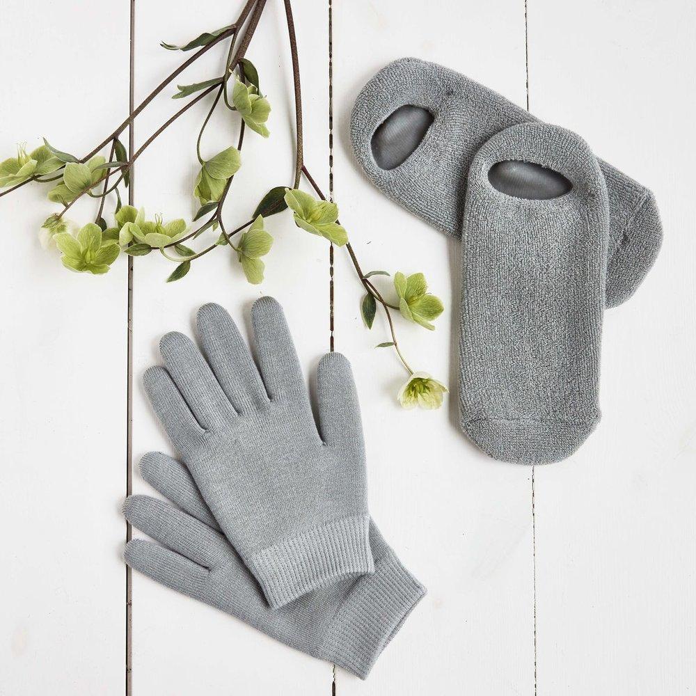 Meraki verwensokken en -handschoenen