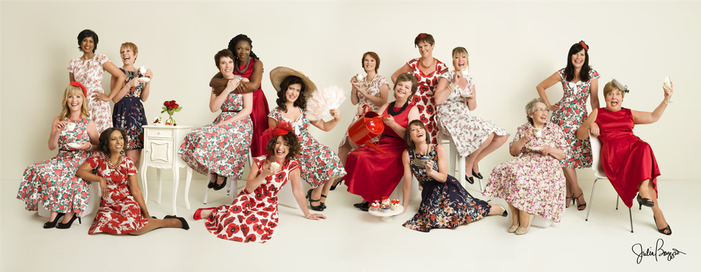 Vanity Fair style 2014 photo shoot with some of the  2014 Breast Cancer Care models by Julia Boggio and Home by Midnight June 2014