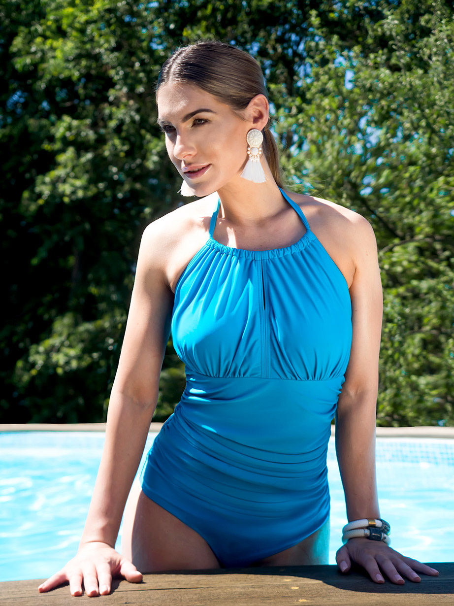 Mastectomy swimsuit dive-collection-portrait-blue-pool-edge.jpg
