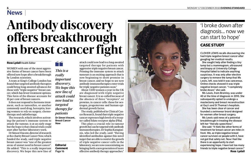 Clover Lewis Swimwear Evening Standard Breast Cancer Now.jpg