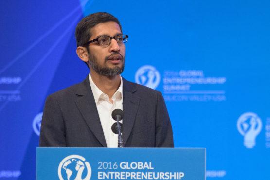 Google CEO サンダー・ピチャイのGES2016でのスピーチ(Image credit: L.A. Cicero)